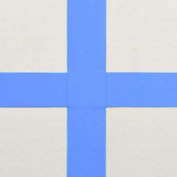 Strunjača na napuhavanje s crpkom 200 x 200 x 15 cm PVC plava
