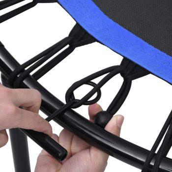 Trampolin za vježbanje s ručkom i sigurnosnim jastučićem 102 cm