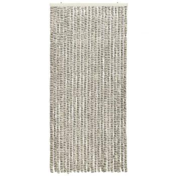 Zastor protiv insekata svjetlosivi/tamnosivi 90 x 220 cm šenil
