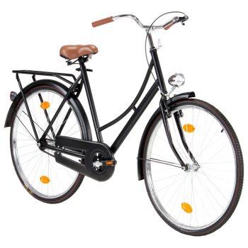 Ženski nizozemski bicikl s kotačem od 28 inča i okvirom 57 cm