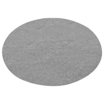 Umjetna trava s ispupčenjima promjer 95 cm siva okrugla